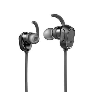 Anker SoundBuds Sport Kopfhörer Bluetooth 4.0 Halsband Ohrhörer Wireless, 8-Stunden-Spielzeit, IPX4-klassifiziert spritzwasserfest für Joggen, Workout, Fitness, Headphones mit Mikrofon für iPhone, Android, MP3 & Weitere (Schwarz) - 7