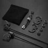 Anker SoundBuds Sport Kopfhörer Bluetooth 4.0 Halsband Ohrhörer Wireless, 8-Stunden-Spielzeit, IPX4-klassifiziert spritzwasserfest für Joggen, Workout, Fitness, Headphones mit Mikrofon für iPhone, Android, MP3 & Weitere (Schwarz) - 8