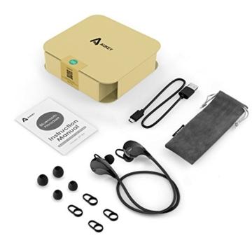 AUKEY Sport Bluetooth Kopfhörer 4.1 Stereo Headset Ohrhörer In Ear Kopfhörer mit Mikrofon für iOS und Android Handys iPhone Samsung HTC iPad - 7