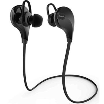 AUKEY Sport Bluetooth Kopfhörer 4.1 Stereo Headset Ohrhörer In Ear Kopfhörer mit Mikrofon für iOS und Android Handys iPhone Samsung HTC iPad - 8