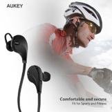 AUKEY Sport Bluetooth Kopfhörer 4.1 Stereo Headset Ohrhörer In Ear Kopfhörer mit Mikrofon für iOS und Android Handys iPhone Samsung HTC iPad - 9