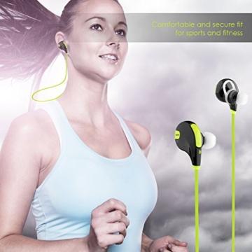 AUKEY Sport Bluetooth Kopfhörer 4.1 Stereo Ohrhörer In Ear Bluetooth Kopfhörer mit Mikrofon für iOS und Android Handys iPad Laptops Tablet - 5