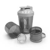 Best Body Nutrition Eiweiß Shaker US Bottle, Schwarz, 2437 - 3