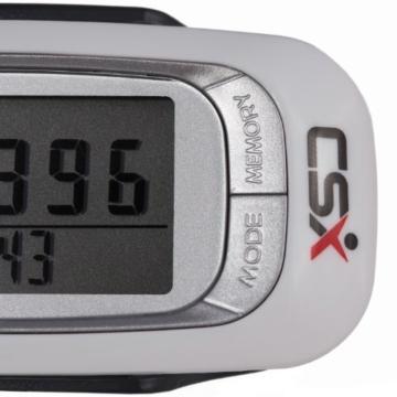 CSX - 3D Schrittzähler, Fitness Tracker mit Kalorienzähler, 7-Tage Speicher und Fortschrittsmonitor - 4