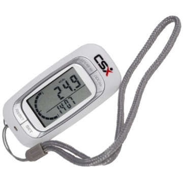 CSX - 3D Schrittzähler, Fitness Tracker mit Kalorienzähler, 7-Tage Speicher und Fortschrittsmonitor - 8