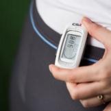 CSX - 3D Schrittzähler, Fitness Tracker mit Kalorienzähler, 7-Tage Speicher und Fortschrittsmonitor - 9