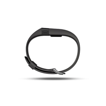 Fitbit Wristband CHARGE HR, Black, L, FB405BKL-EU - 5