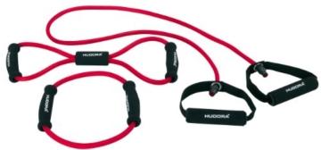 Hudora Fitness-Expanderset 3-teilig, rot - 1
