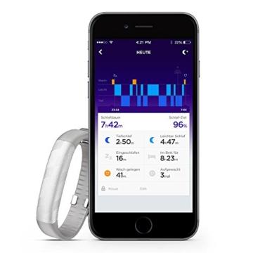 Jawbone 310004-002 UP2 Aktivitäts-/Schlaftracker-Armband silber - 8
