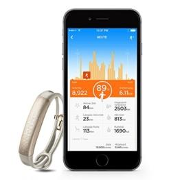 Jawbone UP2 Bluetooth Aktivitäts-/Schlaftracker-Armband (für Apple iOS und Android) oat spectrum - 4