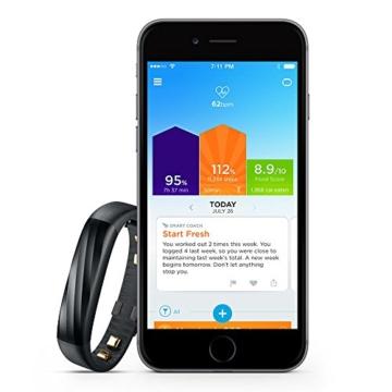 Jawbone UP3 Bluetooth Aktivitäts-/Schlaftracker-Armband (für Apple iOS und Android) schwarz - 4