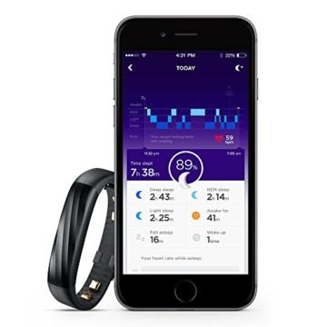 Jawbone UP3 Bluetooth Aktivitäts-/Schlaftracker-Armband (für Apple iOS und Android) schwarz - 7