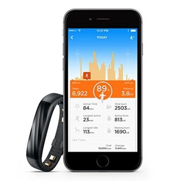 Jawbone UP3 Bluetooth Aktivitäts-/Schlaftracker-Armband (für Apple iOS und Android) schwarz - 8