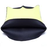 Kiwi-rata Damen Neoprene Bauchgürtel Bauchweggürtel Abnehmen Gürtel Taillenforme (Schwarz, x-Large) - 9