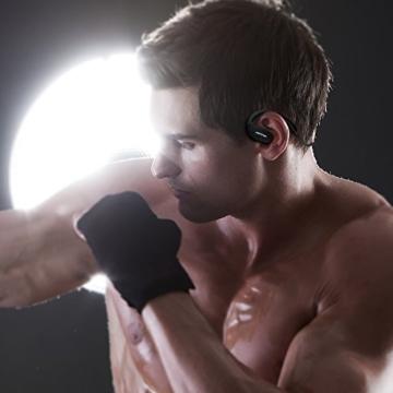 Mpow Cheetah Bluetooth 4.1 Wireless Sport Stereo Kopfhörer mit AptX Technologie(Schwarz) - 7