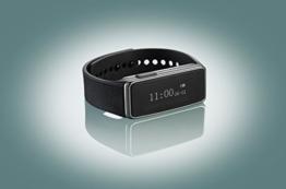 newgen medicals Bluetooth-Fitness-Armband FBT-40 mit Schlafüberwachung - 9