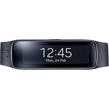 Samsung Gear Fit Smartwatch - Schwarz - 2