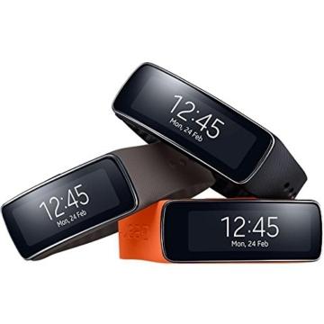 Samsung Gear Fit Smartwatch - Schwarz - 6